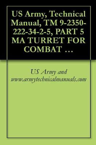 fallout 4 dvd US Army, Technical Manual, TM 9-2350-222-34-2-5, PART 5 MA TURRET FOR COMBAT ENGINEER VEHICLE, M728, (NSN 2350-00-795-1797) (English Edition)