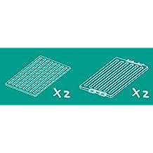 Lockabox–étagère Lot   augmenter la circulation de l'air et améliorer l'hygiène   2x Mid Hauteur et 2x Base inserts   fabriquée en Grande-Bretagne