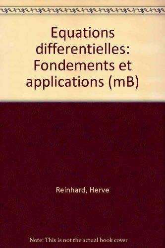 Equations différentielles par Hervé Reinhard