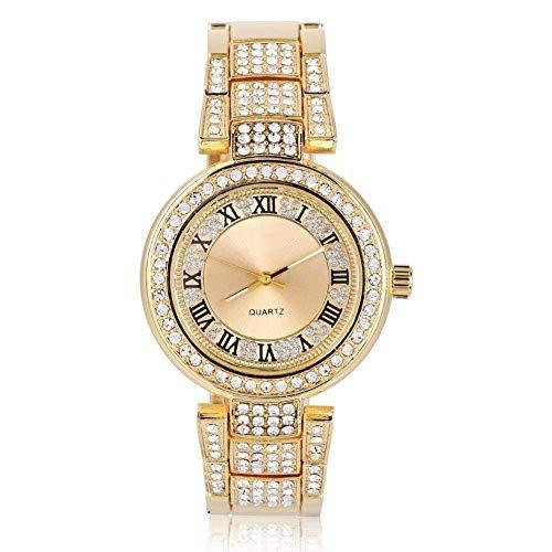 yuyte Relojes de Pulsera para Mujer, Reloj de Vestir de Lujo Rhinestone...