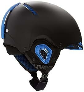 uvex Jakk+ Helmet black / cyan mat / noir Taille 55/59