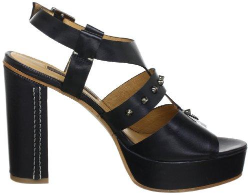 Zinda 9092, Sandales femme Noir (Negro)