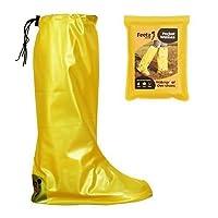 Feetz Pocket Wellies (Small (UK 4-6), Yellow) by Feetz