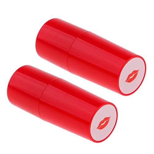2X Estampilla de Pelota de Golf de Secado Rápido, Regalo para Jugador de Golf, Rojo