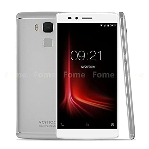 Vernee Apollo Lite 4G Smartphone 5,5 Zoll Android 6.0 Helio X20 64-bit Deca Core 4GB RAM+32 GB ROM 5MP + 16MP Dual Kameras 4K Video Type