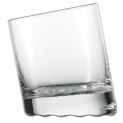 Schott Zwiesel 10 Grad, Whiskybecher 60, 6er Set, Whiskyglas, Kristallglas, 325 ml, 145063