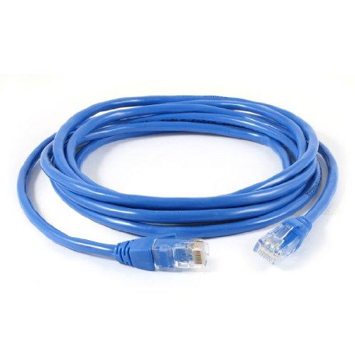 Draht Cat5e Jack (sourcing map RJ45 CAT5E LAN Netzwerk Ethernet Kabel Stecker blau Draht Kabel 3 Meter lang de)