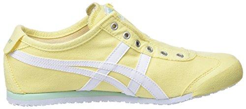 Asics Damen Onitsuka Tiger Mexico 66 Slipon Sneaker Gelb Lemon Lemon Gelb ... 569835
