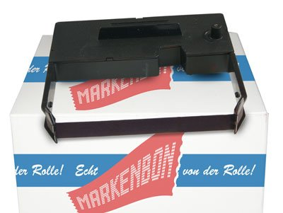 Sharp ER 37 SP Farbband Epson ERC 03 - Farbbandkassette violett (5 Stück) markenbon original (Sharp 37)