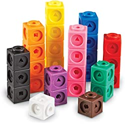 Learning Resources Cubes Mathlink (Jeu de 100), LER4285