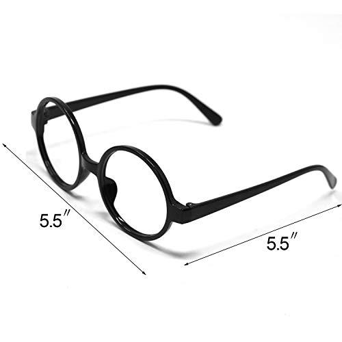 41e1RrrxFnL - Accesorios de Halloween novedosas gafas y corbata, ideales como regalo de Navidad