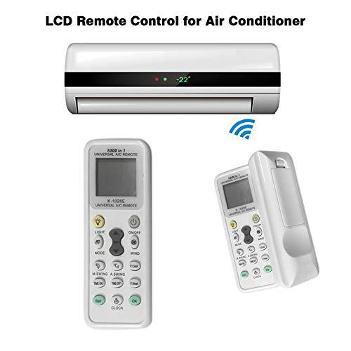 Universal LCD A/C Muli Remote Controller RC 433 mhz Frequency for Air Condition Conditioner Simple Operation K-1028E -