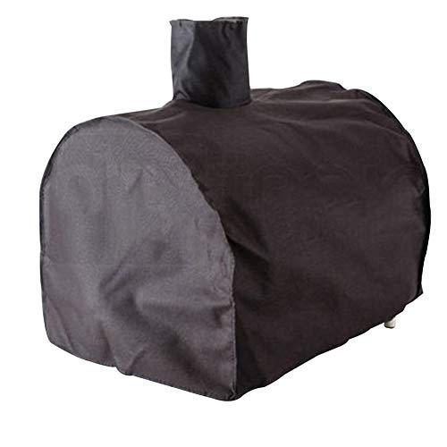 YANGJUN-abdeckung gartenmöbel Draussen Oxford Cloth Pizza Ofen Frostschutzmittel Wasserdichte Staubschutzhülle, Schwarz 2 Größen (größe : B-58x45x168cm)