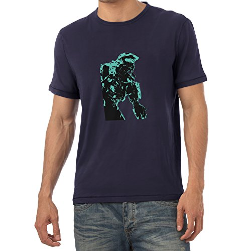 TEXLAB - The Master - Herren T-Shirt Navy