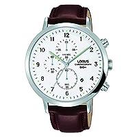 Lorus Reloj Cronógrafo para Hombre de Cuarzo con Correa en Cuero RM317EX8