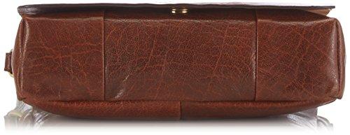 GERRY WEBER Lugano Flap Bag, Borsa a tracolla donna Marrone (cognac 703)