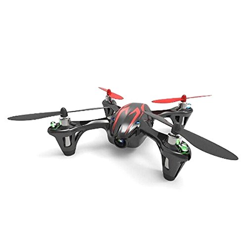 Drohne H107 C Hubsan X4 Mini Quadcopter Ufo mit Kamera! (Black+Red)