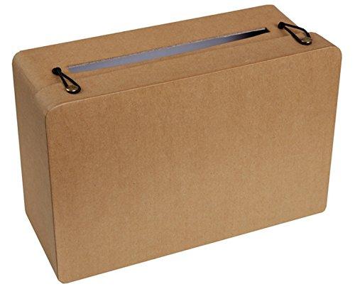 Chal - Urne tirelire valise kraft