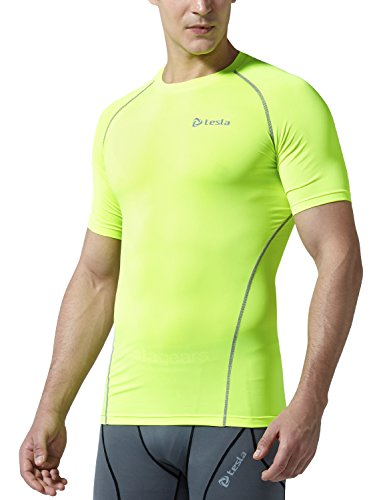 Tesla Kompressions-Baselayer für Herren, Cool-Dry-T-Shirt, damen Kinder Mädchen Herren Jungen, TM-R13-CTGZ (Sleeveless Heatgear T-shirt)