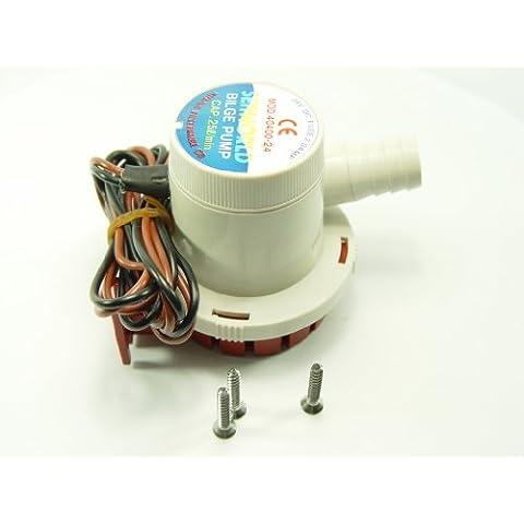 Pompa di sentina 1500 L/H, 24 V