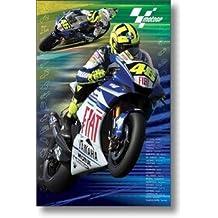 MotoGP–Póster de Valentino Rossi para Moto Racing nuevo