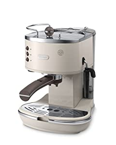De'Longhi ECOV310 Vintage Icona Pump Espresso and Cappuccino Machine 1.4 L, 1100 W