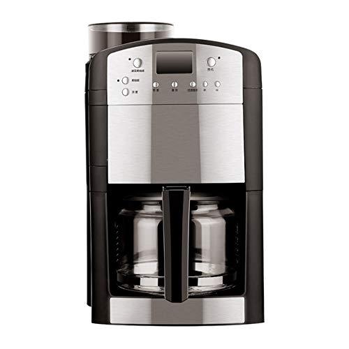 KFJZGZZ Kaffeemaschinen-Startseite Vollautomatische Kaffeemaschinen mit Bohnenmahlung Eine Maschine Amerikanischer Kaffeemaschinen-Topf -