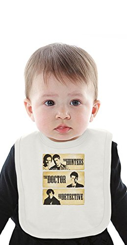 The Hunters The Doctor And The Detective Organic Bib With Ties, Vêtements