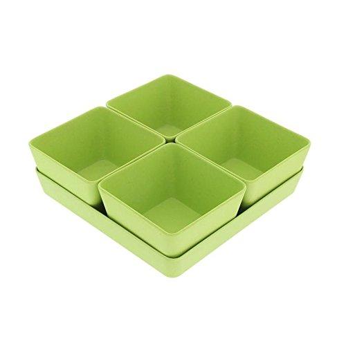 Set apéritif 5 pieces - Vert