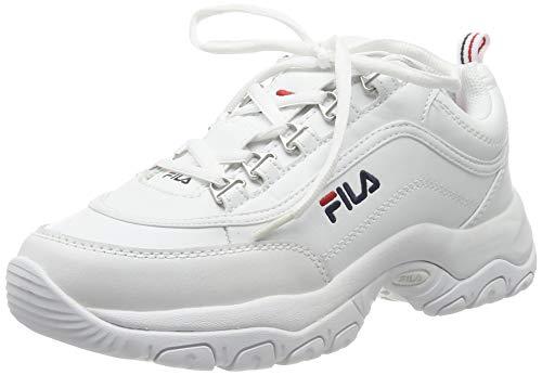 Fila Damen Strada Low wmn Hohe Sneaker, Weiß (White 1fg), 39 EU