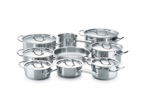 Fagor Profesional Chef - Batería de cocina, 16 piezas