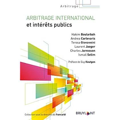 Arbitrage international et intérêts publics