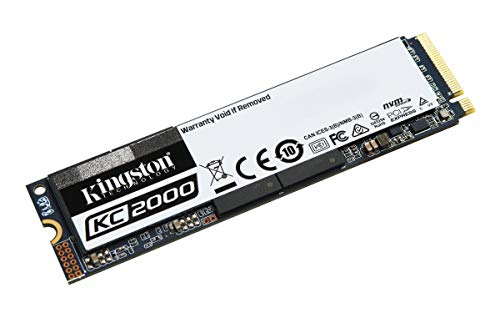 Kingston KC2000 (SKC2000M8/1000G) M.2 2280 NVMe SSD 1000G