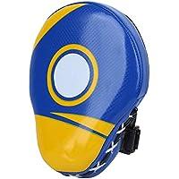 Redxiao Sanda Target, Objetivo de Boxeo, Objetivo de Mano en Forma de Arco, Rojo/Azul no Sensual Boxing Muay Thai para Sanda para Taekwon(Blue)