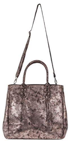 CURUBA Handtasche Hans-Peter Shopper Tasche A4 Kunstleder XL Bronze
