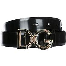 Dolce Gabbana ceinture homme en cuir noir bc780ecf83e2