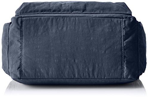 Kipling GABBIE BP Damen Schultertaschen, 35.5 x 30 x 18.5 cm Blau (42W Alaskan Blue)