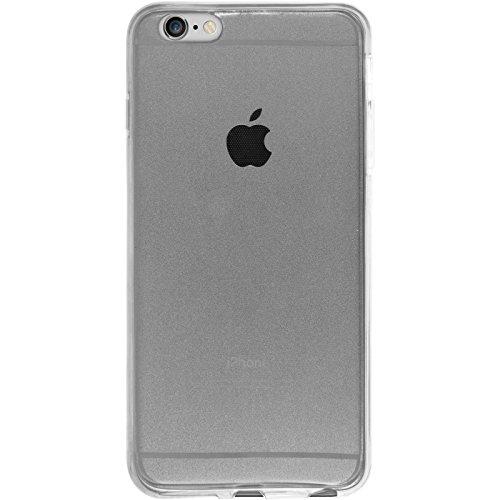 Coque en Silicone pour Apple iPhone 6s / 6 - 360° Fullbody rose - Cover PhoneNatic Cubierta Case gris