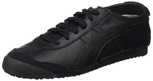 Onistuka Tiger Mexico 66 Unisex-Erwachsene Sneakers, Nero (Black/Black),40 EU (Tiger Asics Onitsuka)