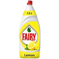Fairy Lemon Liquid Dishwashing Soap, 1.5 Liter