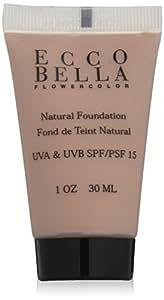 Ecco Bella FlowerColor Liquid Foundation SPF 15, Natural by Ecco Bella BEAUTY (English Manual)