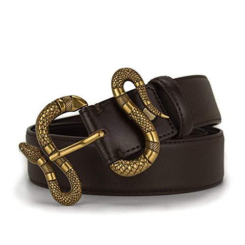 2108 The Latest Sales Handmade Snake Buckle Men Belt