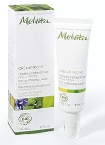 Melvita Bio Excellia Crème riche hydra protectrice aux huiles d'Onagre et Bourrache 50ml