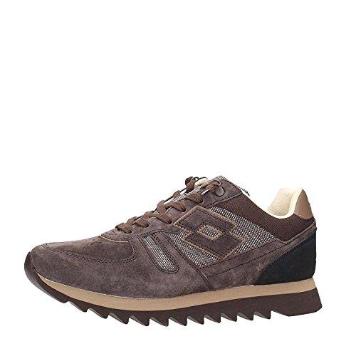 Lotto Leggenda Osaka uomo scarpe ginnastica passeggio sneakers marrone