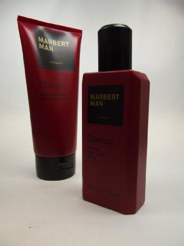 Marbert Man Classic Körperpflegeset (Deo Spray, 150ml + Duschgel, 200ml), 1er Pack (1 x 1 Stück)