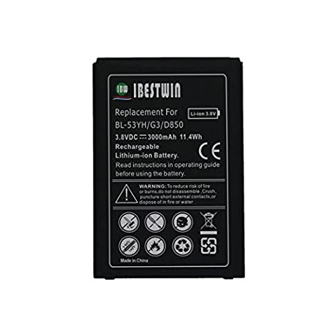IBESTWIN 3000mAh Cell Phone Replacement Battery for