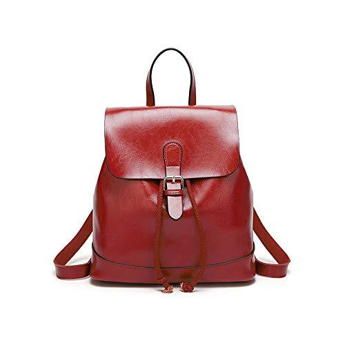 Damen Rucksack Handtaschen Mode PU Leder Anti-Diebstahl Tagesrucksack Schultertaschen Schulrucksack