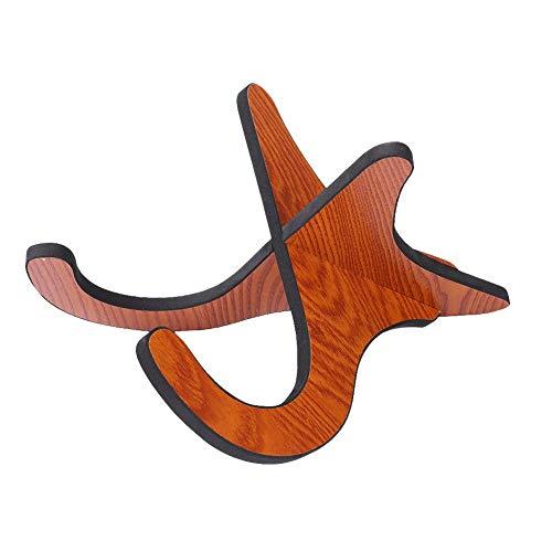 Dilwe Violine Ständer, Abnehmbar Faltbare Holzständer Halter Instrument Supporter für Ukulele Mandoline Violine Banjo