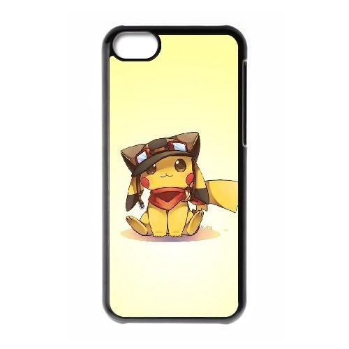 Pikachu ZN57LJ2 coque iPhone Téléphone cellulaire 5c cas coque B0SB3G1YM