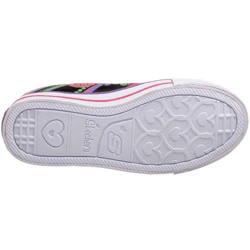 Skechers - Sneaker Shuffles Groovy Baby, Bambina Nero (Noir (Bmlt))